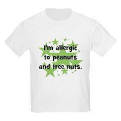 I am allergic to Peanuts & Tr T-Shirt
