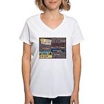 Pacific Ocean Park Memories Women's V-Neck T-Shirt
