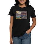 Pacific Ocean Park Memories Women's Dark T-Shirt