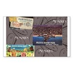 Pacific Ocean Park Memories Sticker (Rectangle)