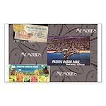 Pacific Ocean Park Memories Sticker (Rectangle 50