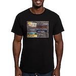 Pacific Ocean Park Memories Men's Fitted T-Shirt (