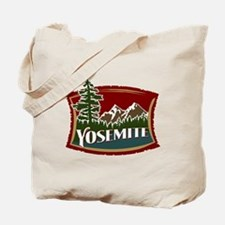 Yosemite Mountains Tote Bag
