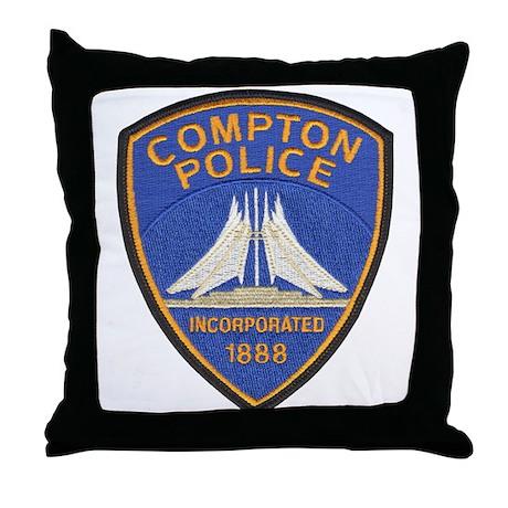 Compton Police Last Style Throw Pillow