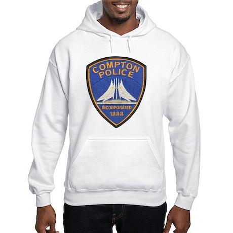 Compton Police Last Style Hooded Sweatshirt