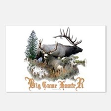 Big Game Hunter Postcards (Package of 8)