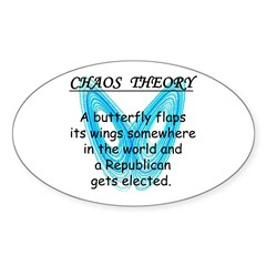 Chaos Theory - Republican Decal