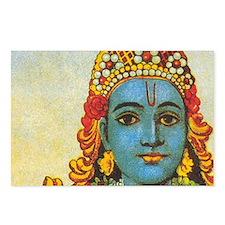 Lord Vishnu: Postcards (Package of 8)