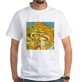 Kali Mens White T-shirts
