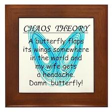 Chaos Theory - Headache Framed Tile
