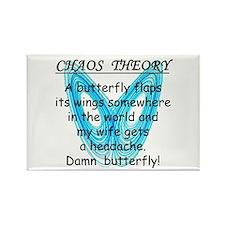 Chaos Theory - Headache Rectangle Magnet