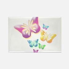 Butterfly Colors Rectangle Magnet