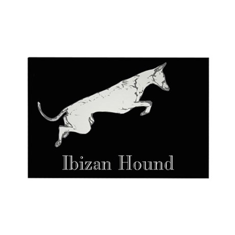 Ibizan Hound Rectangle Magnet (10 pack)