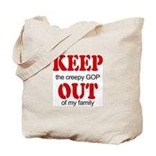 Keep out... family Tote Bag