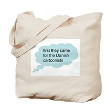 first they came - bubble Tote Bag