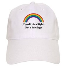 Equality is a right! Baseball Cap