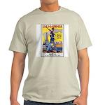 US Marines Service Poster Art Ash Grey T-Shirt