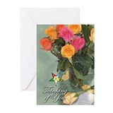 Order eastern star Greeting Cards (20 Pack)