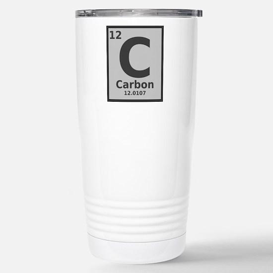 Carbon Stainless Steel Travel Mug