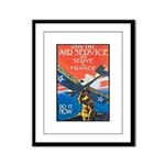 Join the Air Service Poster Art Framed Panel Print