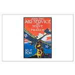 Join the Air Service Poster Art Large Poster