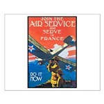 Join the Air Service Poster Art Small Poster