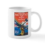 Join the Air Service Poster Art Mug