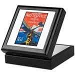 Join the Air Service Poster Art Keepsake Box
