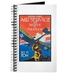 Join the Air Service Poster Art Journal
