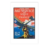 Join the Air Service Poster Art Postcards (Package