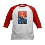 Join the Air Service (Front) Kids Baseball Jersey