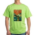 Join the Air Service Poster Art Green T-Shirt