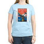 Join the Air Service (Front) Women's Pink T-Shirt