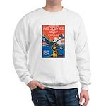 Join the Air Service Poster Art Sweatshirt