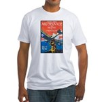 Join the Air Service Poster Art Fitted T-Shirt