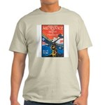Join the Air Service (Front) Ash Grey T-Shirt