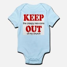 Keep out... church Infant Creeper