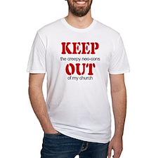 Keep out... church Shirt