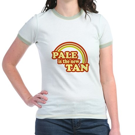 Pale is the new tan Jr. Ringer T-Shirt