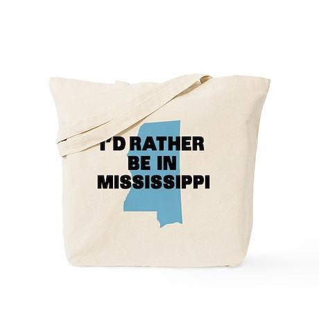 Rather be Mississippi Tote Bag