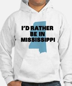 Rather be Mississippi Jumper Hoody