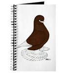 Tumbler Pigeon Bearded Journal