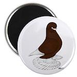 "Tumbler Pigeon Bearded 2.25"" Magnet (100 pack"