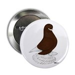 "Tumbler Pigeon Bearded 2.25"" Button (100 pack"