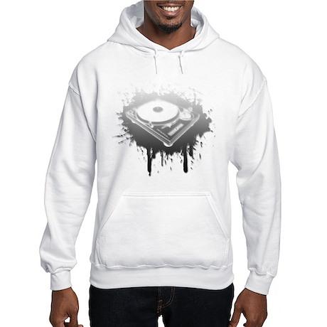 Graffiti Turntable Hooded Sweatshirt