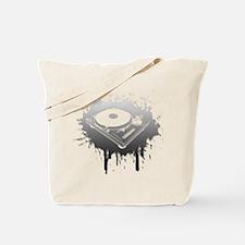 Graffiti Turntable Tote Bag