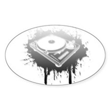 Graffiti Turntable Decal