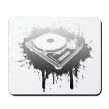 Graffiti Turntable Mousepad