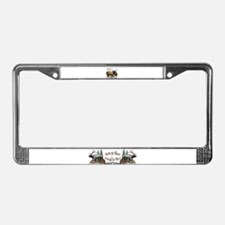 Elk Hunter License Plate Frame
