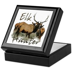 Elk Hunter Keepsake Box